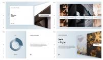 【商务】轻阴影高品质简约模板示例4
