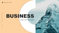 【简约商务】创意多排版多用途总结报告商务汇报模板4