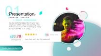【抖音风】视觉动感科技潮流 网红策划营销商务模版示例2