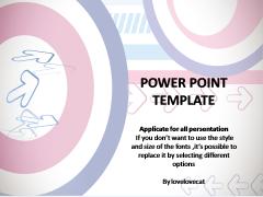 简洁圈中圈—通用PPT模板