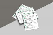【一页纸简历】HR一眼相中PPT个人简历-180示例5