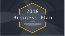 【完整框架】创意图文混排商业计划书策划书模板08