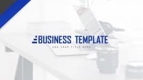 【深蓝极简】大气极简房产金融商业计划书
