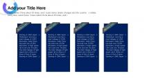 【未来之瞳】天蓝色经典质感报告模板4示例4