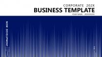 【分条析理D】蓝色科技极简大气商务工作总结年终汇报
