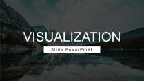 视觉化商务范简约大气通用PPT模板Ⅴ