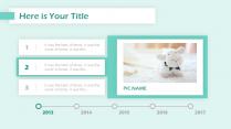 【多配色】简约实用清新网页风格多彩模板示例6