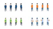 【会讲故事的模板2.0】扁平化卡通2.5d轴测图示例3