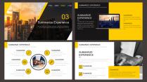 【欧美网页】黑黄时尚简约大气年终总结汇报模板3示例6