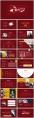 【热销合集】红色金色工作总结汇报通用模板示例4