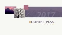 精彩商务系列3——商业计划书、总结汇报通用