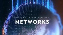 现代互联网科技星球高品质商务多用途模板