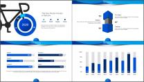【商务中国】蓝色企业文化公司介绍工作通用PPT示例6