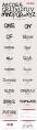 【毛笔字模板】26个英文字母和四项品格的总结PPT示例3