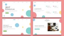 【耀你好看】欧美网页风灵动创意商业计划书3示例3