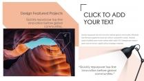 【创意图形】时尚欧美 品牌展示画册 报告总结模板示例7