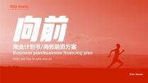 【向前】真计划高端商务融资投资计划书示例7