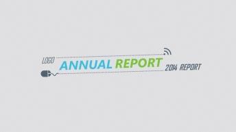 2014清新商务计划总结PPT模板