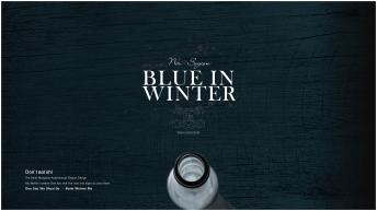 【大道至简】线纹漆蓝阅读型报告模板