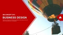 红色杂志风图文混排工作总结PPT模板(四)