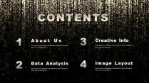 【金色粒子】高品质可视化工作汇报商务总结报告模板示例3