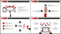 【双配色】简约企业宣传公司介绍商务品牌工作PPT示例4