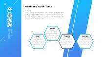 多彩网页式商业计划书演示模板示例6