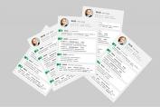 【一页纸简历】HR一眼相中PPT个人简历-179示例4