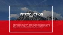 大气创意总结报告工作报告商务策划模板示例3