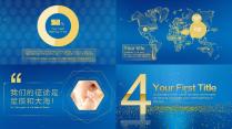 大气金色科技感模板(含高大上的片头动画)示例6