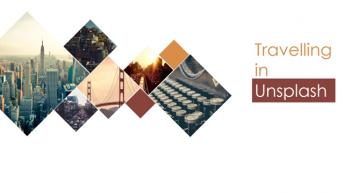 优雅大气·精致·图文排版·旅行纪念·PPT画册模板