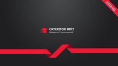 【动画PPT】红与黑简约大气品牌模板