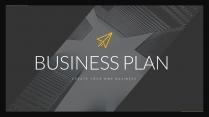 【完整框架】创意图文混排现代商业计划书策划书模板模