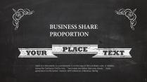 【超酷黑板】全通用超诚意商务模板