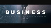 【电影质感】简洁大气年终商务计划报告模版3示例2