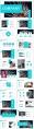 【现代简约】多排版商务汇报工作总结模板示例3