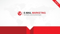 红色商务商业企业文化通用型PPT模板