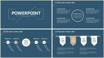 设计感创意简约实用商务报告模板