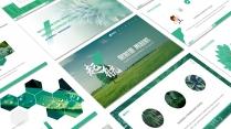 起航绿色自然(3)PPT模板【204】