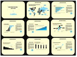 《经济学人》图表风,大气蓝黑商务PPT模板