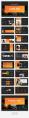 【簡約商務】暗調商業計劃網頁雜志風PPT模板示例5