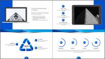 【商务中国】蓝色企业文化公司介绍工作通用PPT示例4