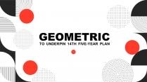 创意几何科技互联网企业公司策划工作PPT(七)