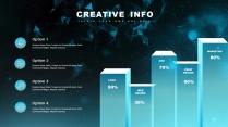 【現代科技】創意多排版現代商務匯報總結報告模板示例4