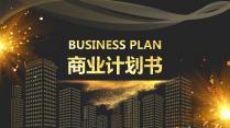 【光影】黑金商务计划书杂志风格工作汇报PPT模板