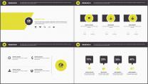 大气稳重企业品牌策划/工作汇报PPT模板示例4