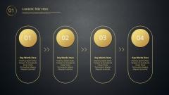 【动态+线条】金色现代商务总结汇报模板02示例4