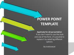 灰底簡潔箭頭-總結-通用模板