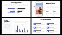 【精致视觉23】蓝色商务风工作总结汇报模版示例5
