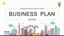 【色彩中国】多彩城市商务商业工作通用PPT